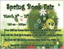 Book Fair Next Week!