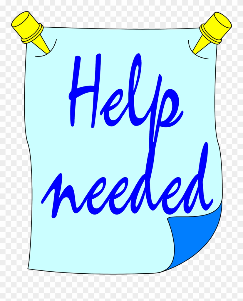 help needed clipart