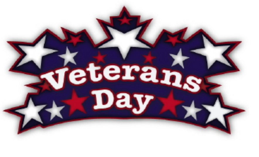 Veterans Day clipart with stars